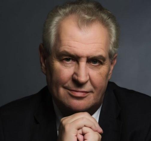 Miloš Zeman oficiální foto
