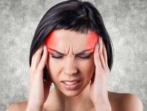 akupresura na migrénu