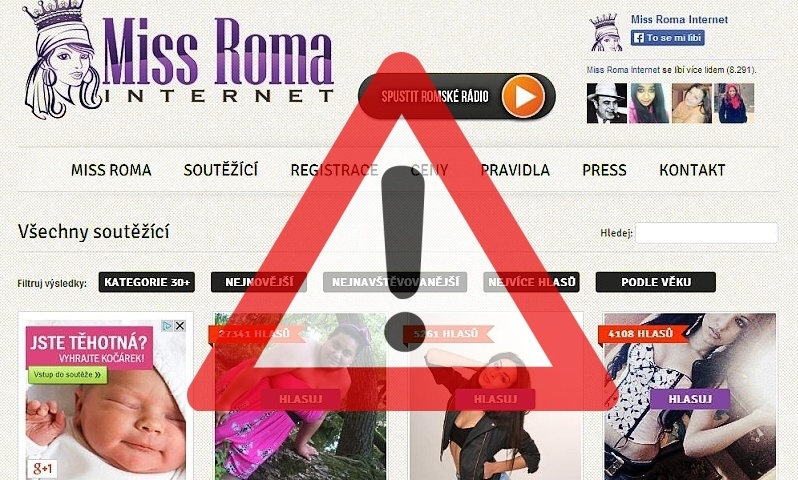 miss roma internet podvod?