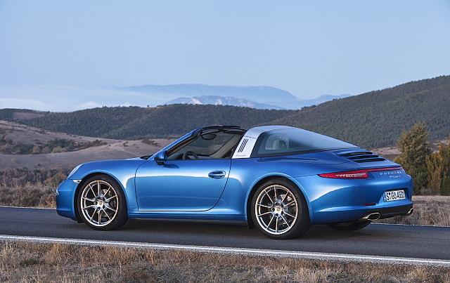 Nové Porsche 911 Targa