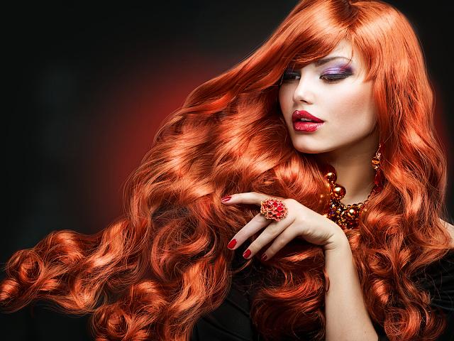 kosmetika na husté vlasy