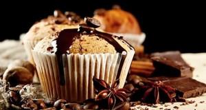 muffiny s čokoládou recept