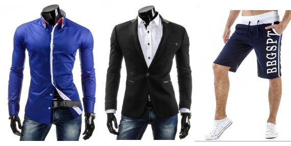oblečení pro muže