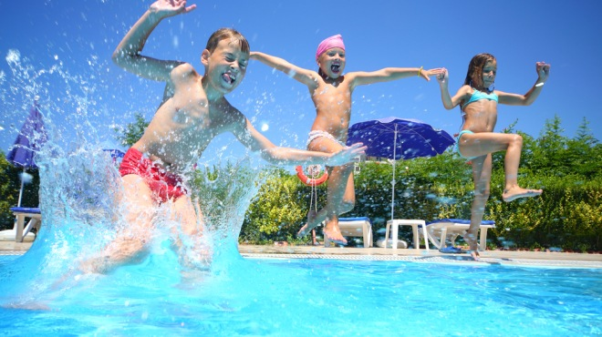 tepelná čerpadla pro bazény