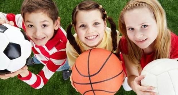 dítě a sport