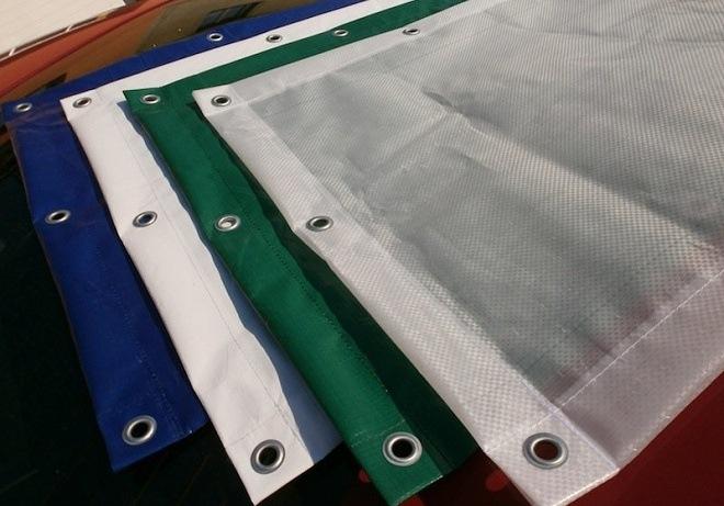 zakrývací plachty