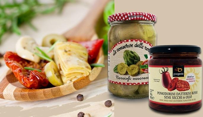 Italská nakládaná zelenina
