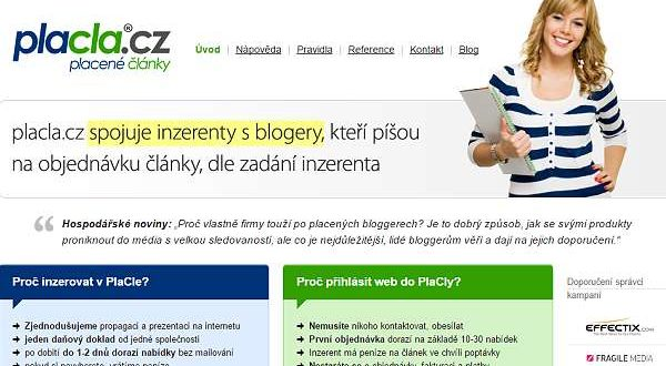 ukončení spolupráce placla.cz