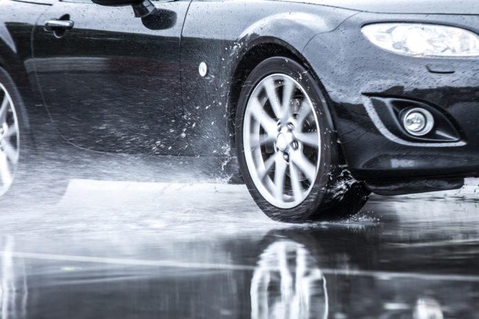 voda v autě